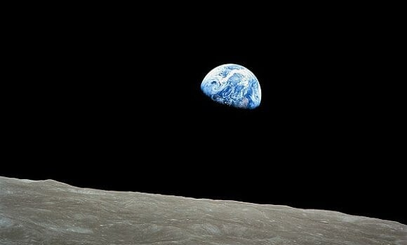 William Anders Apollo 8 24-DIC-68